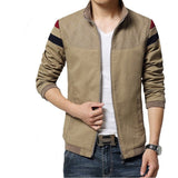 New Fashion Brand Jacket Men Trend Patchwork Korean Slim Fit Mens Designer Clothes Cotoon Men Casual Jacket Slim 4XL 5XL - Shopatronics