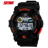 New skmei Luxury Men Watches Swimming Digital 4 colors Quartz PU Strap Sports Watch Relogio Masculino - Shopatronics - One Stop Shop. Find the Best Selling Products Online Today