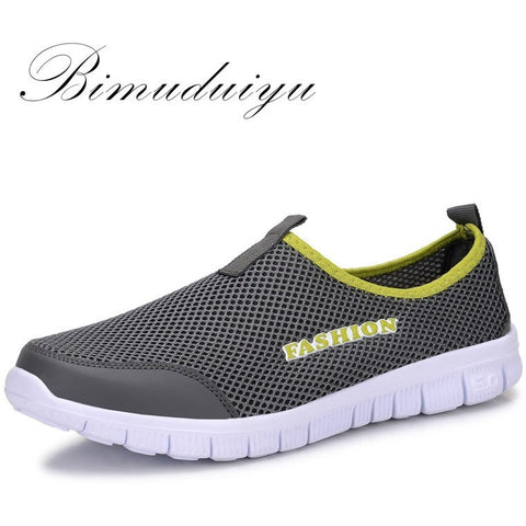 Summer Style Male Lazy Network Shoes for Men /Women Shoes Foot Wrapping Breathable Mesh Shoes - Shopatronics