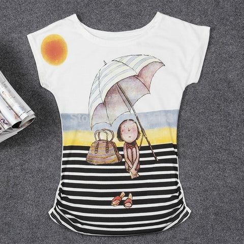 2016 Top Selling Womens Clothes Fashion Vintage Spring Summer Short Sleeve Animal Printed Girls Cotton Female Women T-shirt - Shopatronics - One Stop Shop. Find the Best Selling Products Online Today
