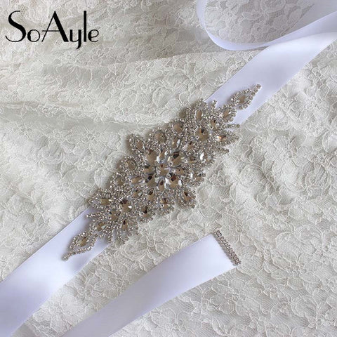 2016 Wedding Accessories Discount  Real Picture Amazing Crystal Beads Shinny Cheap Promotion Charming Bridal Belt Women Sashes - Shopatronics - One Stop Shop. Find the Best Selling Products Online Today