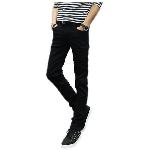 2016 male black skinny jeans shorts  men's clothing trend slim small trousers male casual trousers Large size 27-36 - Shopatronics - One Stop Shop. Find the Best Selling Products Online Today
