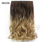 "24"" 60cm Wavy Curly Extension 5 Clip De Cheveux Ombre Piece Hair Extensions - Shopatronics - One Stop Shop. Find the Best Selling Products Online Today"
