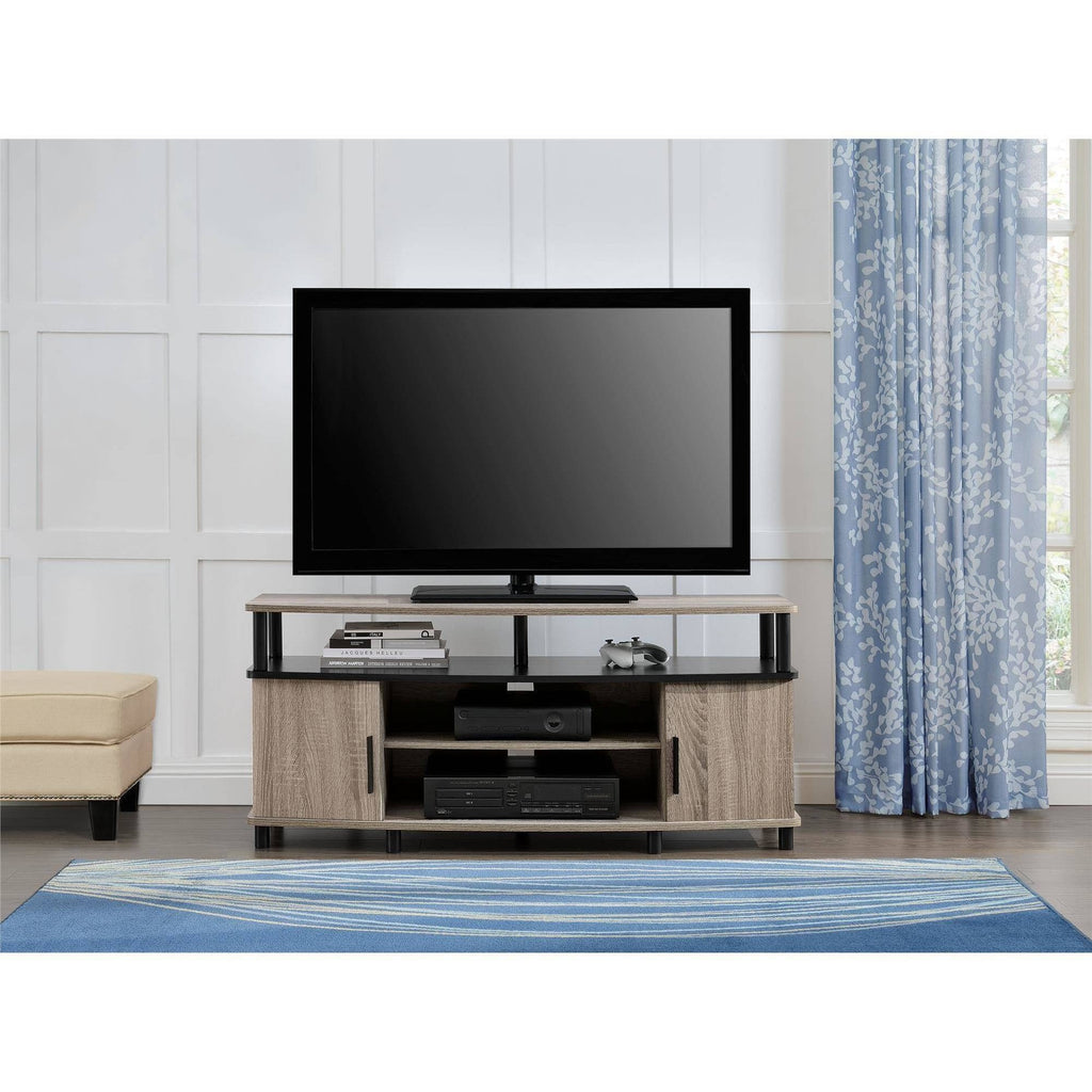 Carson Tv Stand For Tvs Up To 50 Multiple Finishes Shopatronics