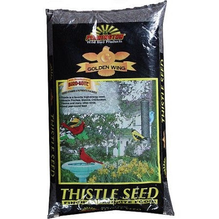 Pennington Thistle Seed Wild Bird Feed, 5 lbs - Shopatronics