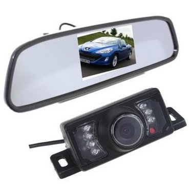 AGPtek Car TFT LCD Rear View Mirror Monitor 4.3 inch and Night Vision Backup Camera - Shopatronics - One Stop Shop. Find the Best Selling Products Online Today