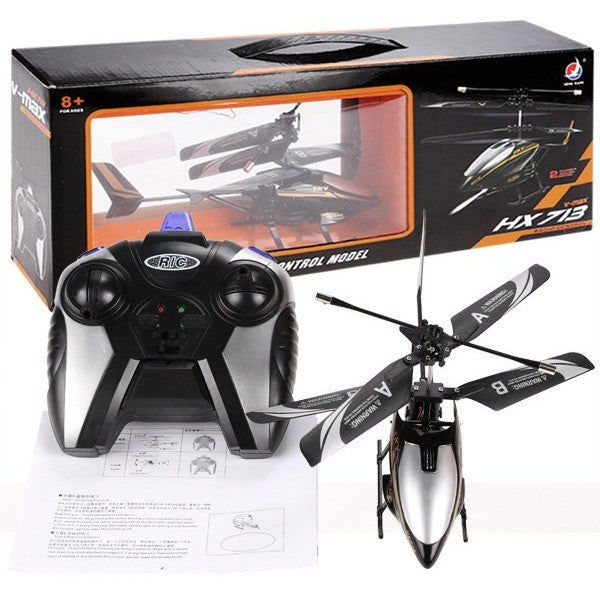Free Shipping - 2CH Infrared Mini Drone RC Remote Control Helicopter Electric LED Head Light Model Toy with Remote Controller Boy Kids Gift - Shopatronics