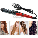 Magic Hair Styling Tools Professional Hair Curler Roller Spiral Curling Iron 110-240V HS10*56 - Shopatronics