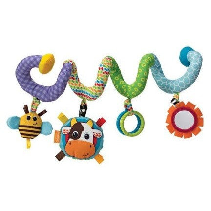 Infantino Spiral Activity Toy - Topsy Line - Shopatronics