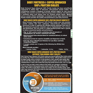 Body Fortress Super Advanced 100% Protein Isolate Chocolate Dietary Supplement Powder, 24 oz - Shopatronics - One Stop Shop. Find the Best Selling Products Online Today