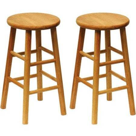 Beech Wood Counter Stools 24