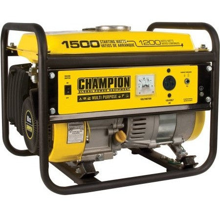 Champion Power Equipment Model 42436, 1200/1500 Watt Portable Gas-Powered Generator CARB - Shopatronics - One Stop Shop. Find the Best Selling Products Online Today