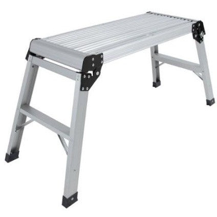 Aluminum Platform Drywall Step Up Folding Work Bench Stool Ladder - Shopatronics - One Stop Shop. Find the Best Selling Products Online Today