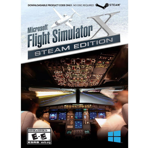 Flight Simulator X Steam Edtion (PC) - Shopatronics