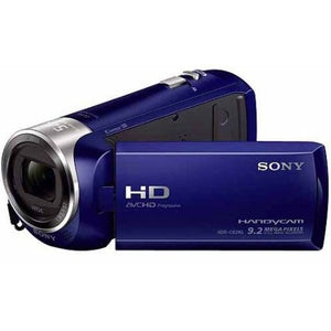 "Sony HDR-CX240/L Blue HD Camcorder with 27x Optical Zoom, 2.7"" LCD and SteadyShot Image Stabilization - Shopatronics - One Stop Shop. Find the Best Selling Products Online Today"