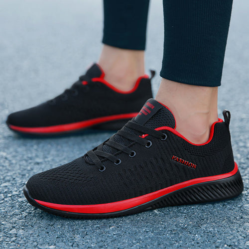 Men Shoes Lightweight Comfortable Breathable Walking Sneakers