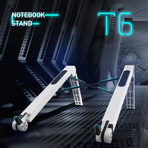 Lightweight Laptop Cooling Stand Plastic Vertical Laptop Stand Foldable