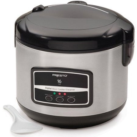 Presto Digital Stainless Steel Rice Cooker/Steamer - Shopatronics - One Stop Shop. Find the Best Selling Products Online Today