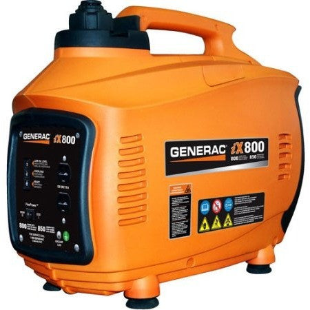 Generac 5791 iX800, 800 Watt Gas Powered Portable Inverter Generator (CARB Compliant) - Shopatronics - One Stop Shop. Find the Best Selling Products Online Today