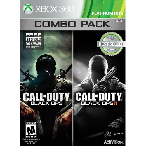 Call of Duty Black Ops 1 & 2 Xbox 360 Combo with First Strike Map Pack (Xbox 360) - Shopatronics - One Stop Shop. Find the Best Selling Products Online Today