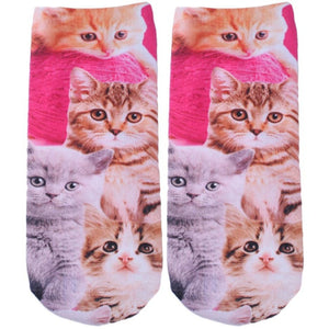 3D Cartoon Printed Socks For Men Women Cute Unisex Ankle Socks - Shopatronics - One Stop Shop. Find the Best Selling Products Online Today