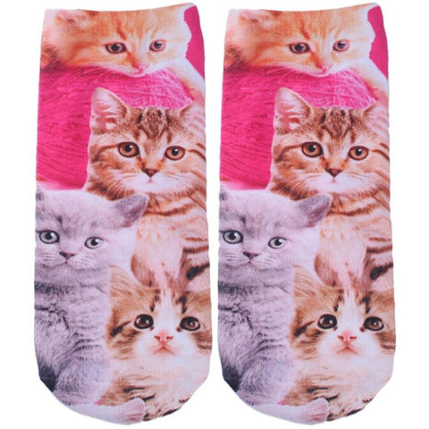 3D Cartoon Printed Socks For Men Women Cute Unisex Ankle Socks Women's Casual Cotton Socks Happy Socks Wholesale - Shopatronics - One Stop Shop. Find the Best Selling Products Online Today
