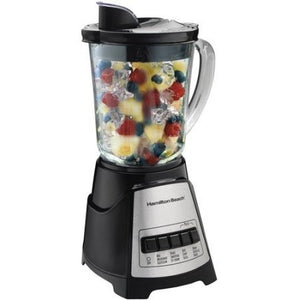Hamilton Beach Power Elite Multi-Function Blender, Black - Shopatronics