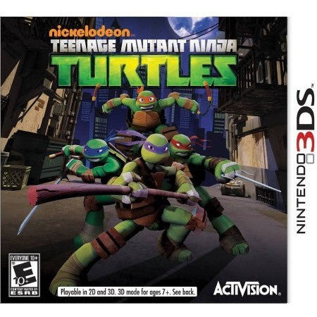 Teenage Mutant Turtles (Nintendo 3DS) - Shopatronics