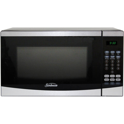 Sunbeam 0.7 cu ft Microwave, Stainless Steel - Shopatronics