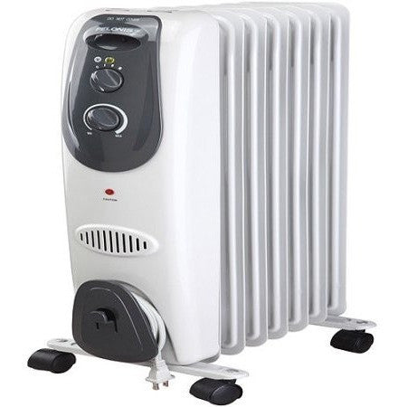 Pelonis 7-Fin Electric Radiator Heater, Gray - Shopatronics - One Stop Shop. Find the Best Selling Products Online Today