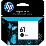 HP 61 Black Original Ink Cartridge (CH561WN) - Shopatronics