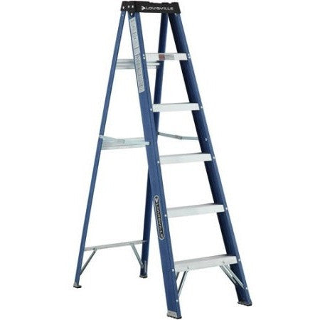 Louisville Ladder 6' Fiberglass Ladder - Shopatronics - One Stop Shop. Find the Best Selling Products Online Today