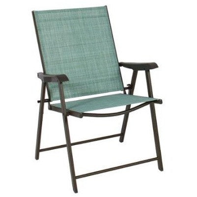 set of 2 folding chairs sling bistro set outdoor patio furniture