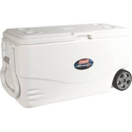 Coleman 100 qt Xtreme 5-Wheeled Cooler - Shopatronics - One Stop Shop. Find the Best Selling Products Online Today