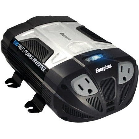 Energizer EN500 12-Volt 500-Watt Power Inverter - Shopatronics - One Stop Shop. Find the Best Selling Products Online Today