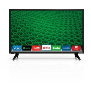 "VIZIO D24-D1 24"" 1080p 60Hz LED Smart HDTV - Shopatronics"