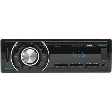 Sound Storm ML41B Single-DIN In-Dash Mechless Reciever with Bluetooth - Shopatronics - One Stop Shop. Find the Best Selling Products Online Today