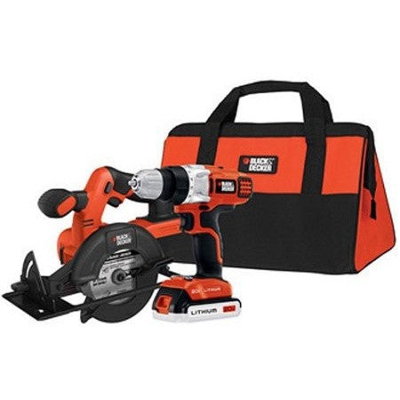 Black and Decker 20V MAX Lithium Drill and Circular Saw Kit, BDCD220CS - Shopatronics - One Stop Shop. Find the Best Selling Products Online Today
