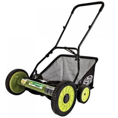 "Sun Joe Mow Joe 18"" Manual Reel Mower with Catcher - Shopatronics - One Stop Shop. Find the Best Selling Products Online Today"