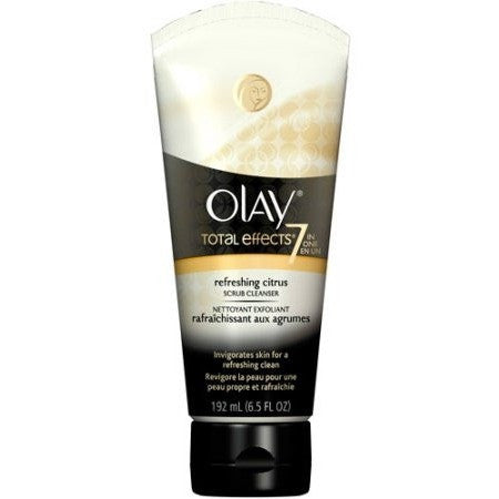 Olay Total Effects Citrus Scrub Facial Cleanser 6.5 Oz - Shopatronics