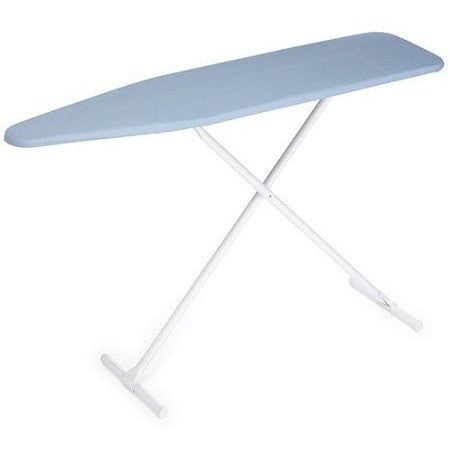 Homz T-Leg Ironing Board with Blue Cover and Pad - Shopatronics