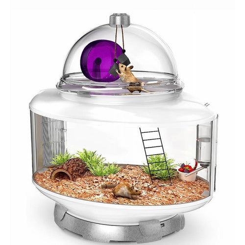 Bio Bubble Terrarium Small Animal, Silver - Shopatronics - One Stop Shop. Find the Best Selling Products Online Today