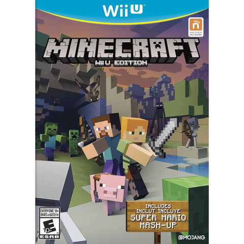 Minecraft (Wii U) - Shopatronics - One Stop Shop. Find the Best Selling Products Online Today