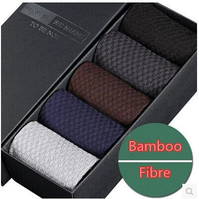 5 pairs fashion bamboo fiber socks men's socks summer gift box men's summer meia socks brand calcetines lot - Shopatronics - One Stop Shop. Find the Best Selling Products Online Today