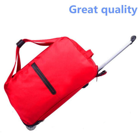 6 Colors Short Luggage Treval Bag Men and Women Pull Rod Bags Waterproof  Pull Rod Box Soft Pure Black Color Oxford Cloth - Shopatronics - One Stop Shop. Find the Best Selling Products Online Today