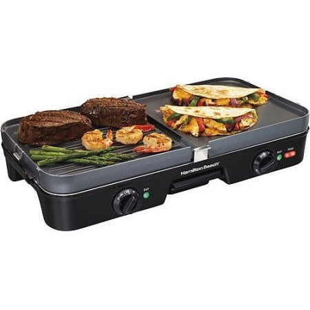 Hamilton Beach 3-in-1 Grill/Griddle - Shopatronics - One Stop Shop. Find the Best Selling Products Online Today