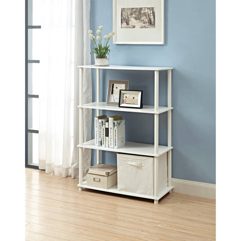 Mainstays No Tools 6-Cube Storage Shelf, Multiple Colors - Shopatronics