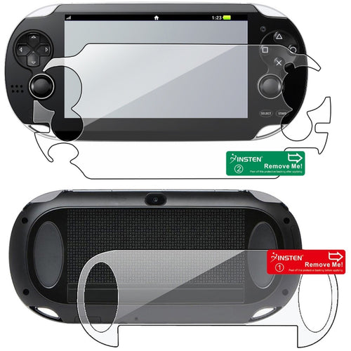 Insten 3 packs Reusable Screen Covers For Sony PSP Vita - Shopatronics