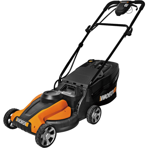 "WORX WG775 14"" Cordless Electric-Powered Lawn Mower - Shopatronics"