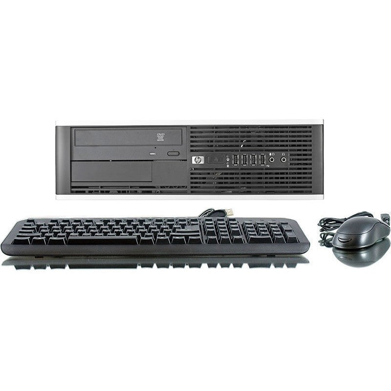 "REFURBISHED HP 8000 Elite C2D 3.0GHz 4GB 250GB DVD Win 7 Home Computer + 17"" LCD - Shopatronics"